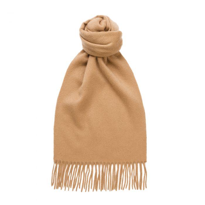 Camel Speyside Cashmere Scarf