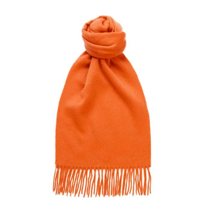 Orange Speyside Cashmere Scarf