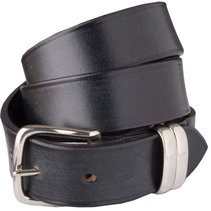 Black Classic English Made Bridle Belt