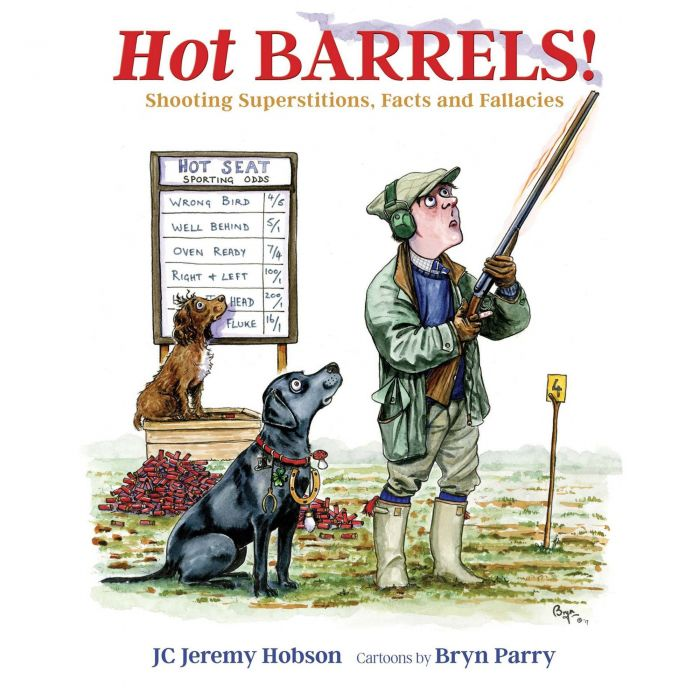 HOT BARRELS! by JC Jeremy Hobson Hardback Book