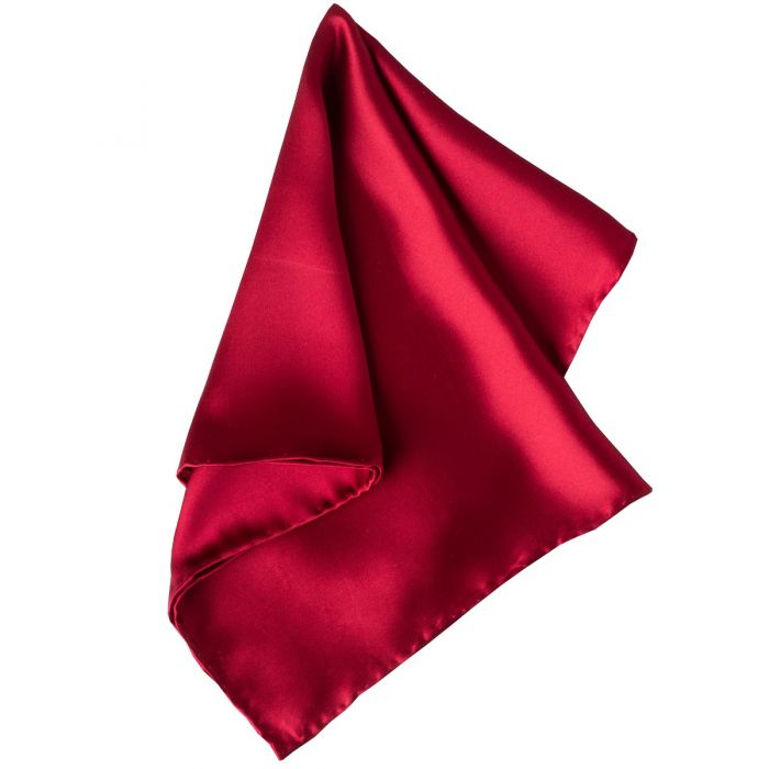 Burgundy Solid Silk Hank