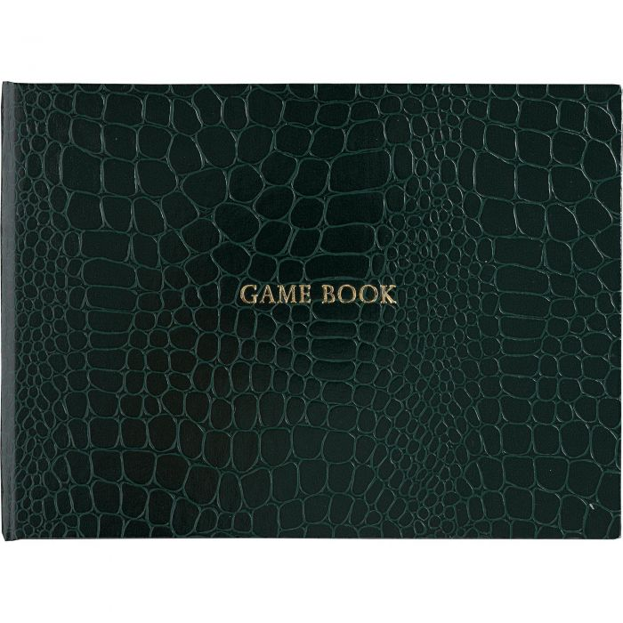 Green Leather Game Book