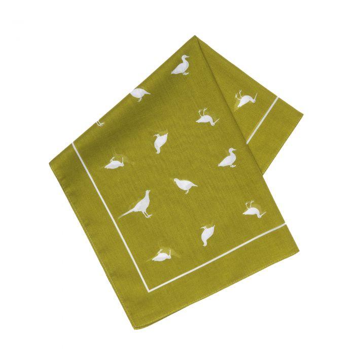 Green Silhouette Game Bird Hank