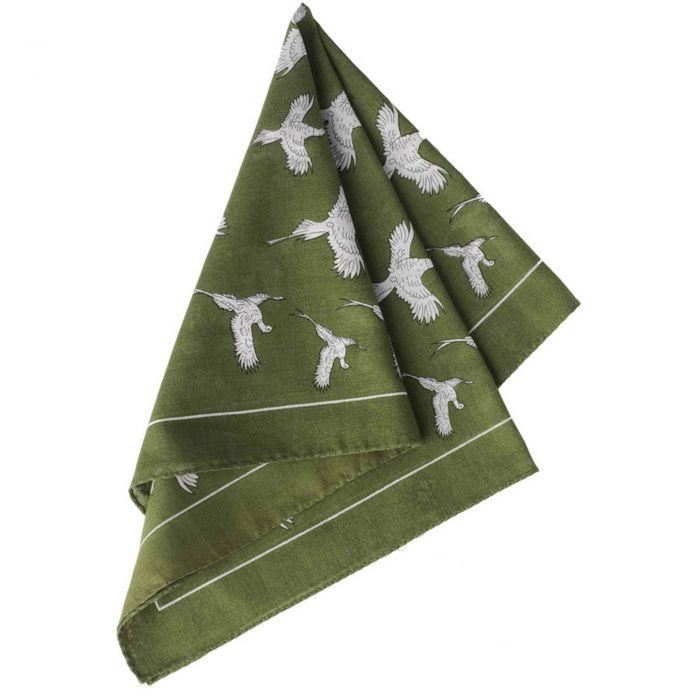 Green Flying Pheasant Cotton Hank