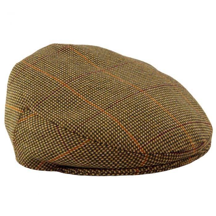 Sporting Check Tweed Garforth Cap