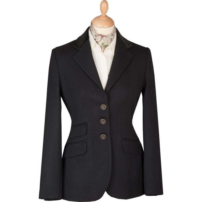 Black Velvet Collar Cavalry Twill T.ba Jacket