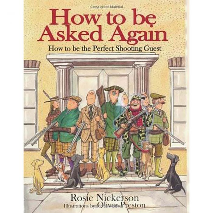 How to be Asked Again Hardback Book