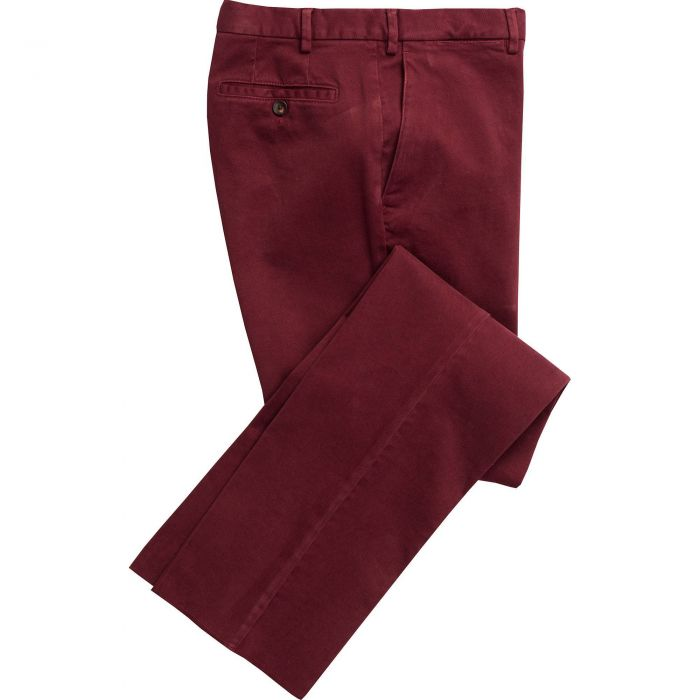 Brick Red Cattrick Heavy Drill Trouser