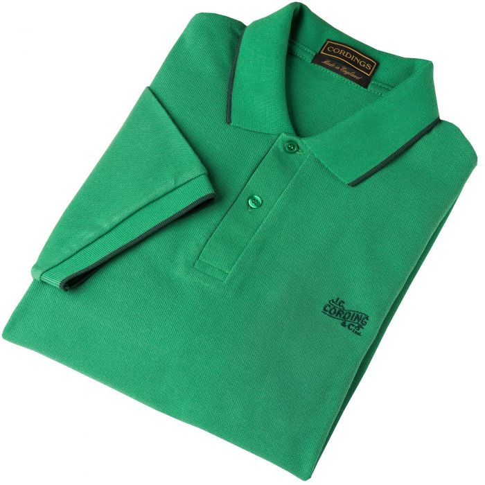 Green Forest Branscombe Pique Polo