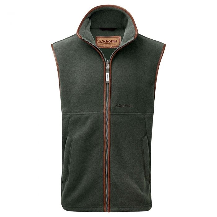 Schoffel Lincoln Green Oakham Fleece Gilet