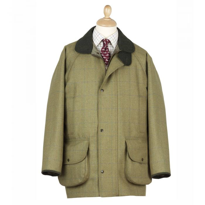 House Check Tweed Field Coat
