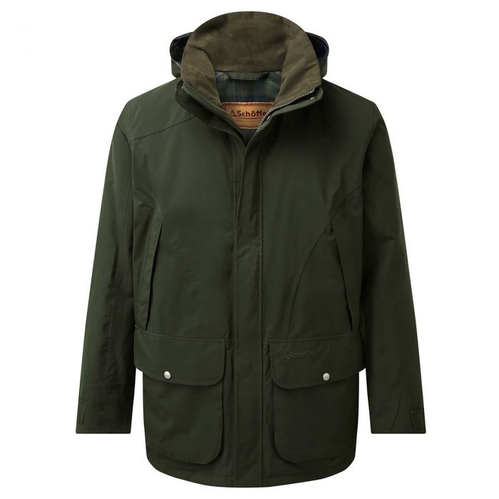 Schoffel Forest Green Snipe Coat