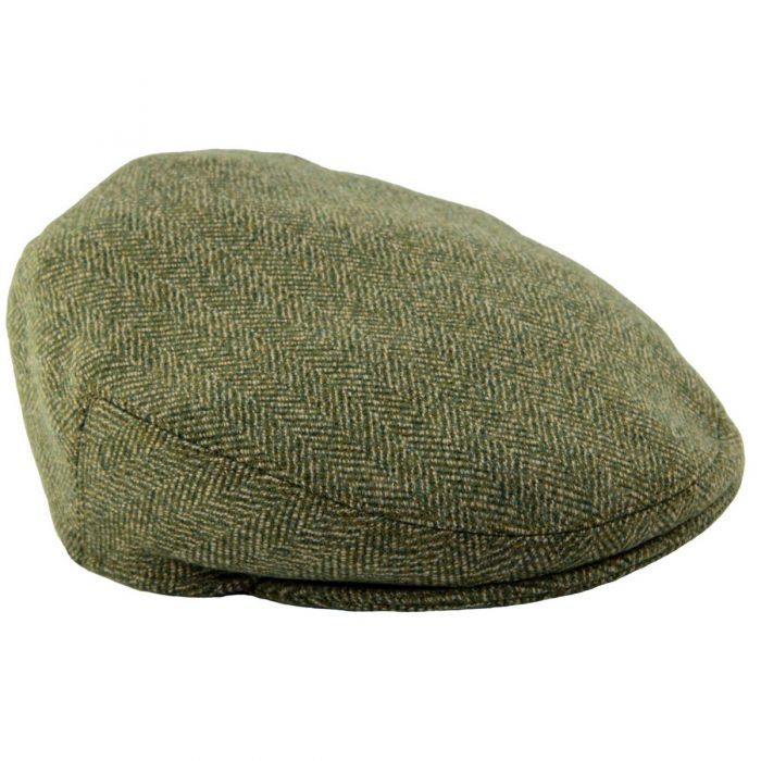 Firley Herringbone Tweed Garforth Cap