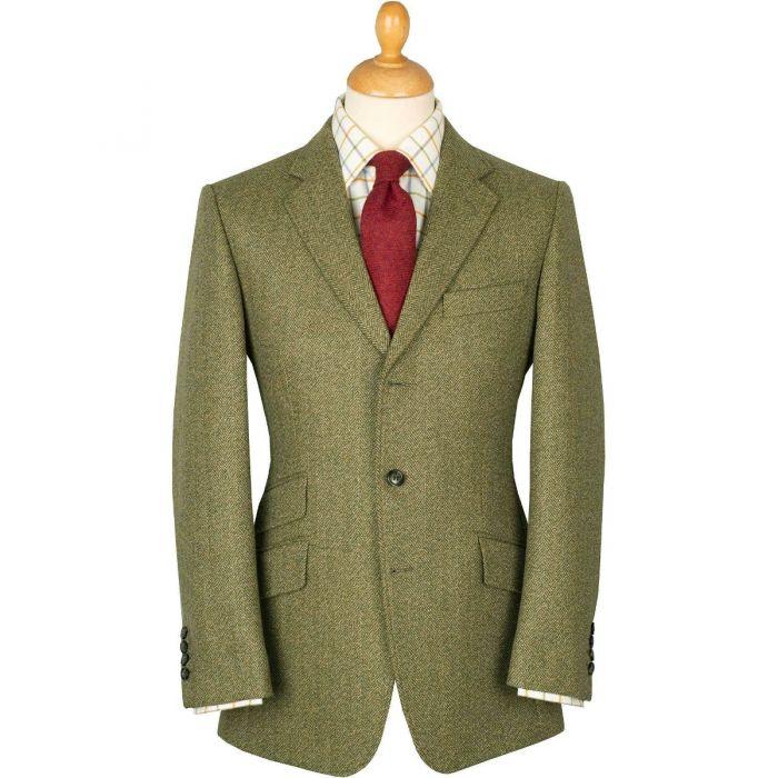 Firley Herringbone Tweed Jacket