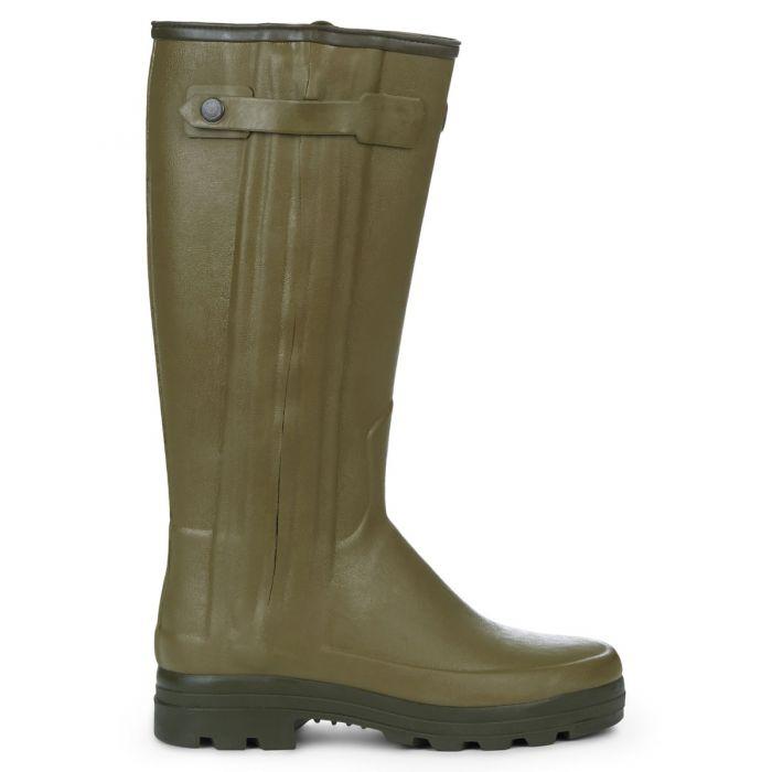 Le Chameau Mens Chausseur Neoprene Lined Boots