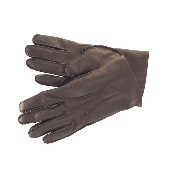 Brown Capeskin Handsewn Leather Gloves