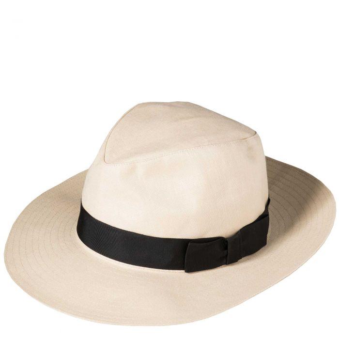 Linen Milano Hat