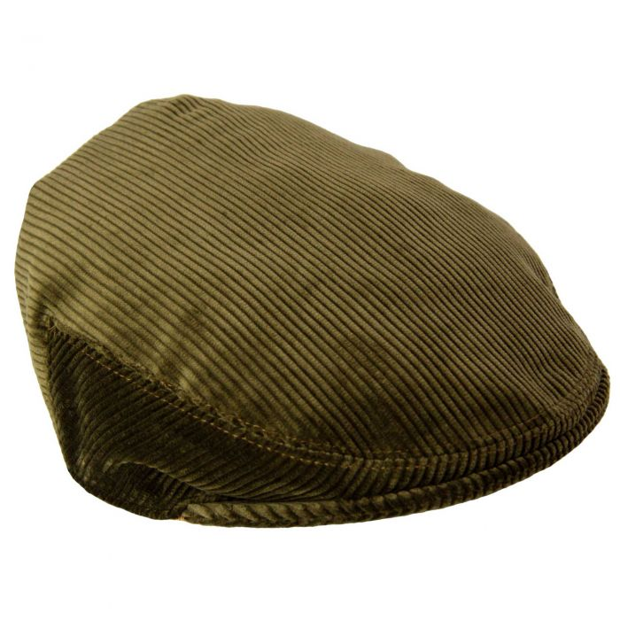 Moss Corduroy Garforth Cap