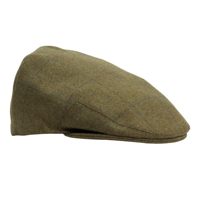 House Check Tweed Garforth Cap