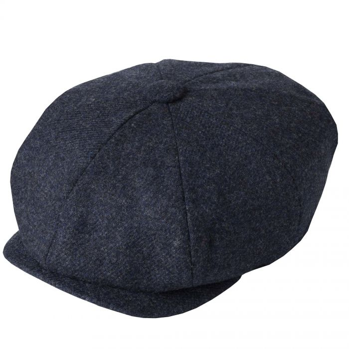 Blue Tweed Redford Curved Cap