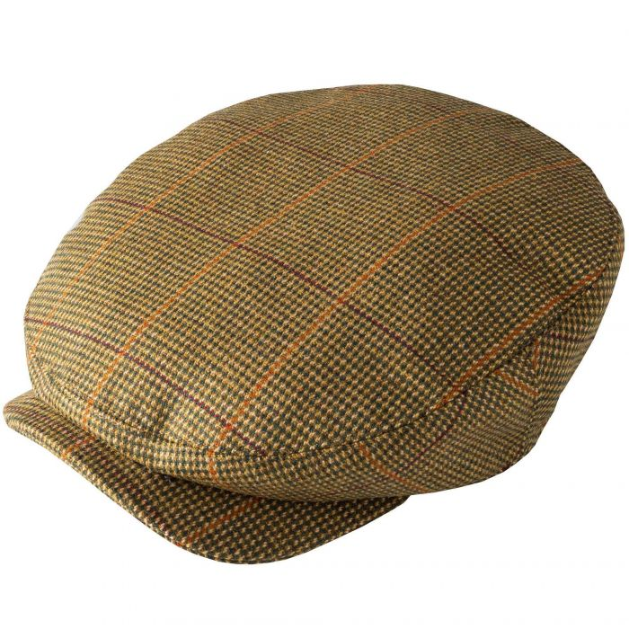 Sporting Check Tweed Baggy Bond Cap