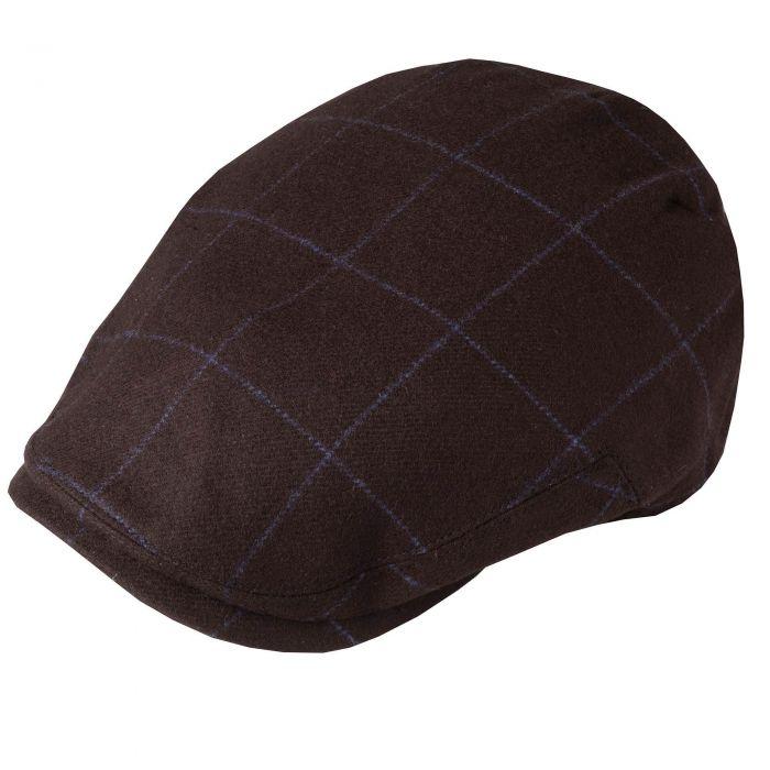 Brown Cashmere York Cap