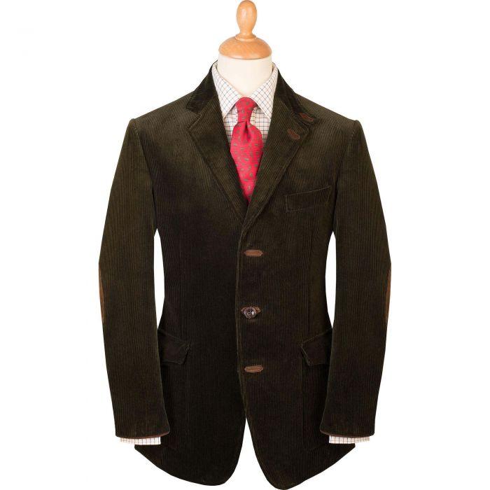Olive Ripley Cord Jacket