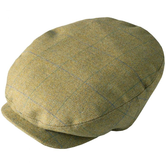 House Check Tweed Baggy Bond Cap