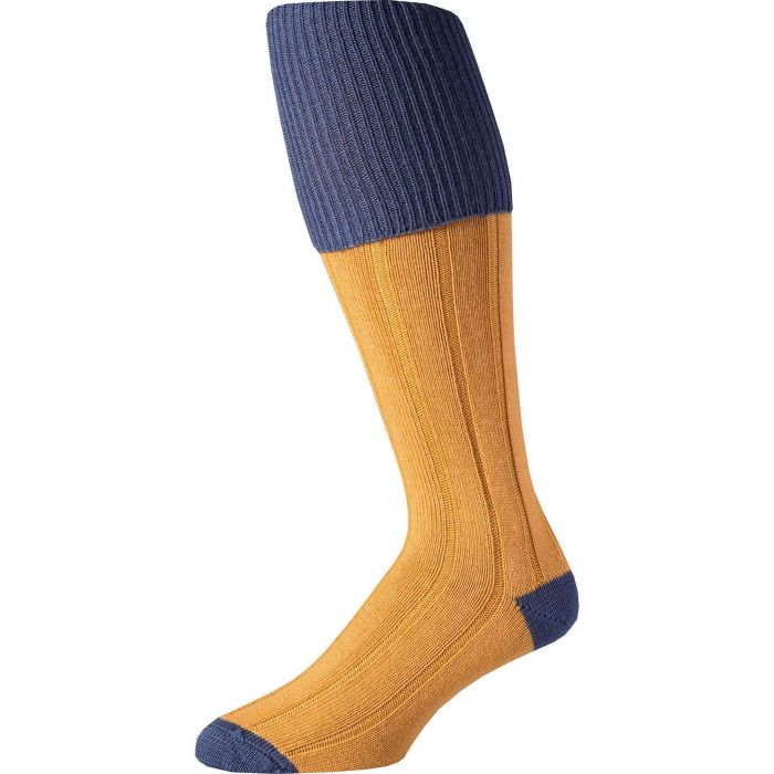 Gold Merino Shooting Stocking