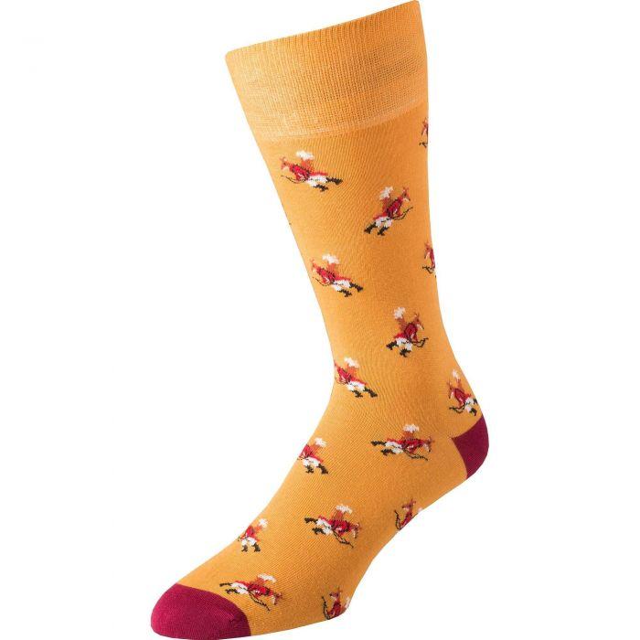 Gold Fox Fine Sock