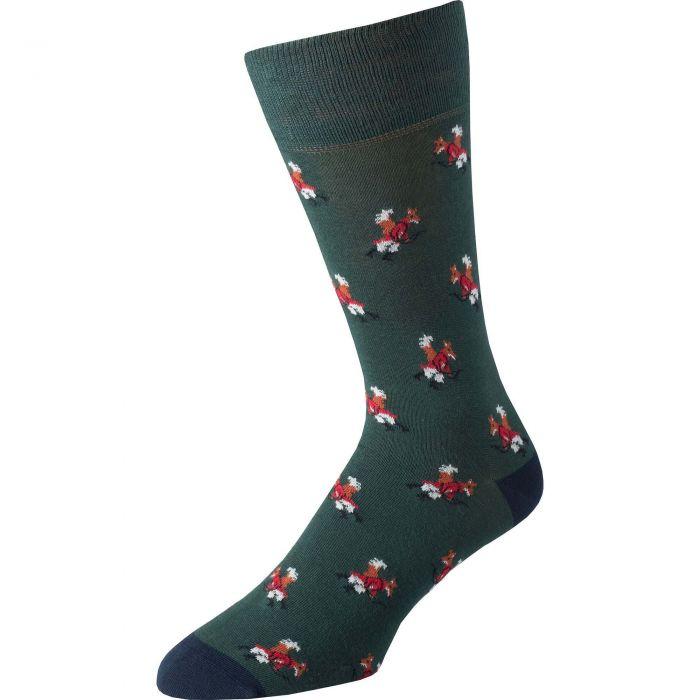 Green Fox Fine Sock