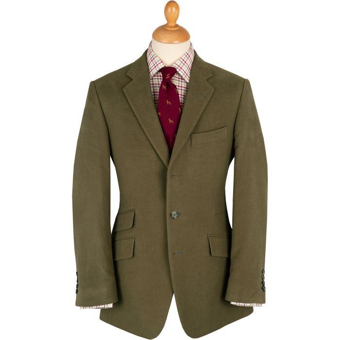 Green Lovat Earl Moleskin Jacket