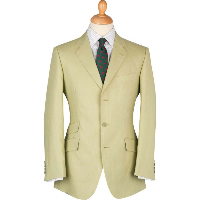 Light Green Linen Jacket