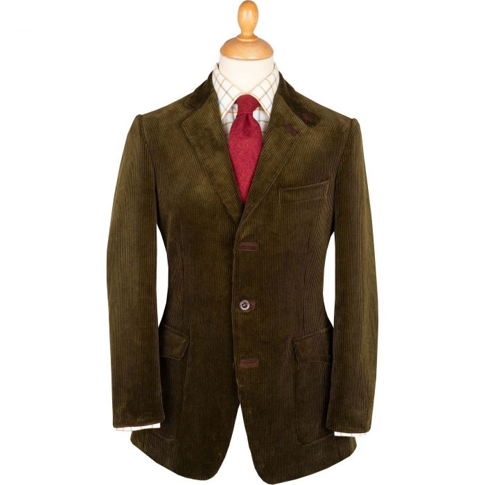 Moss Green Ripley Cord Jacket