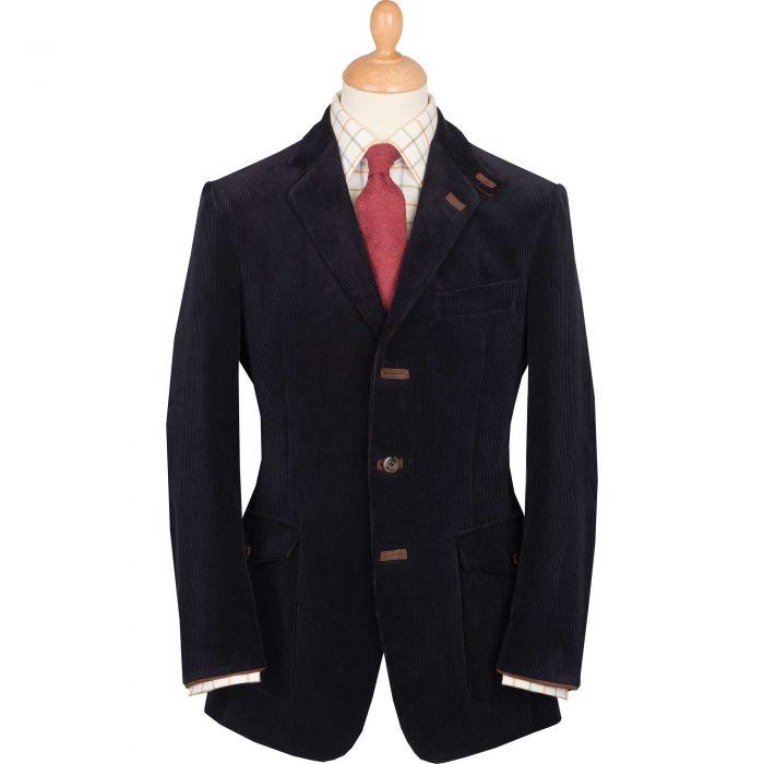 Navy Ripley Cord Jacket