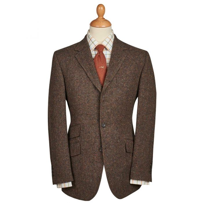 Bracken Derry Irish Donegal Tweed Jacket