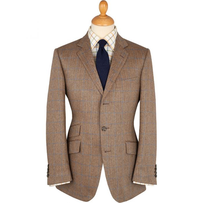 Brown Sudbury Silk Jacket