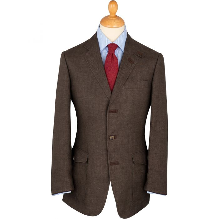 Savannah Brown Livingstone Linen Jacket