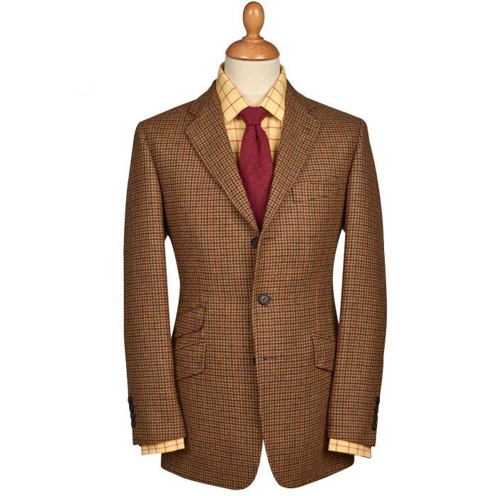 Clancey Check Tweed Jacket