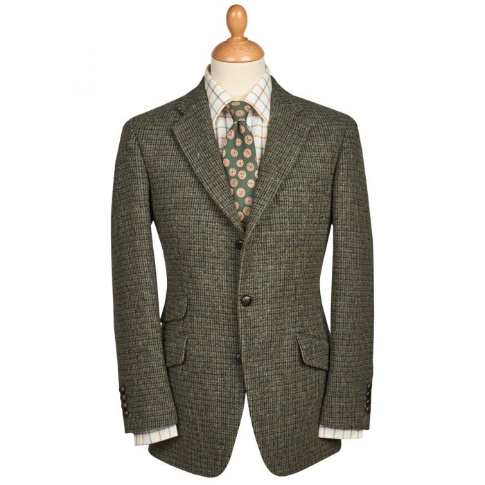 Green Callanish Harris Tweed Jacket