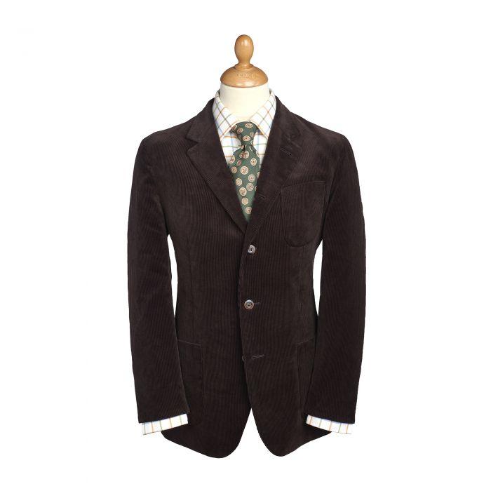 Brown Stockbridge Needlecord Jacket