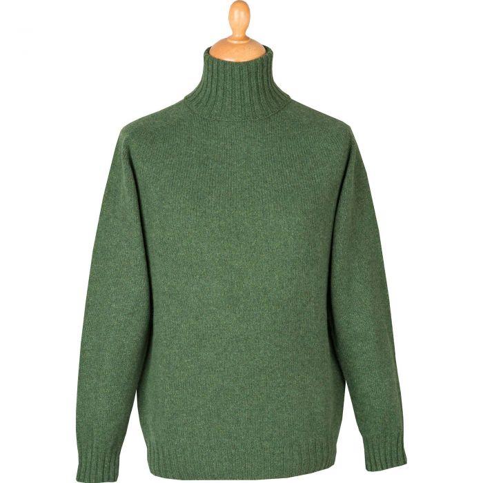 Moss Green Geelong Rollneck