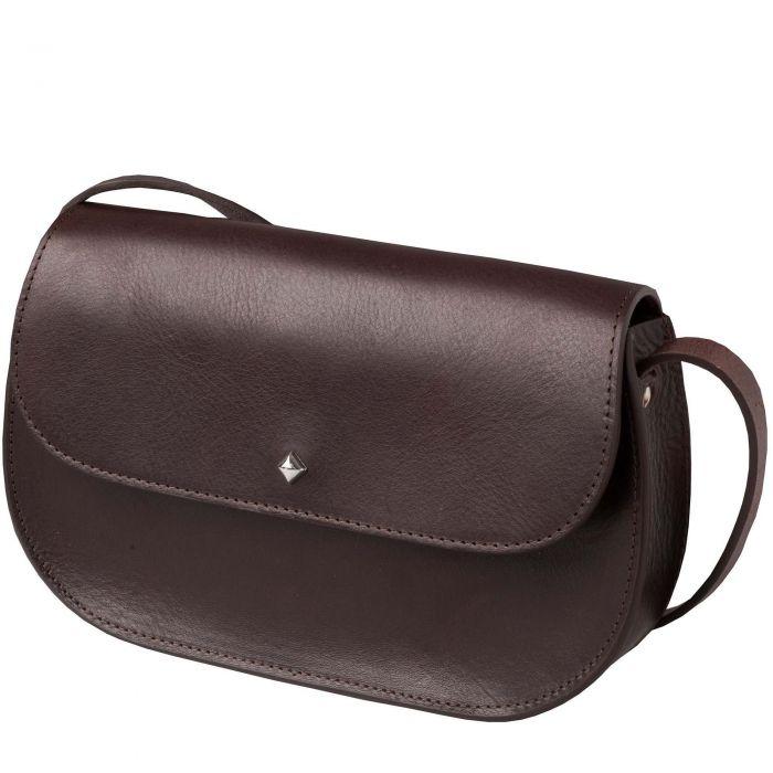 Brown Leather Satchel Bag