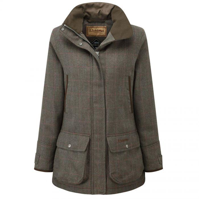 Schoffel Cavell Tweed Field Coat