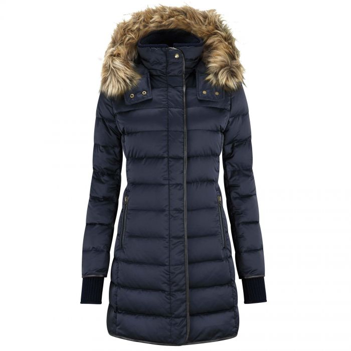 Schoffel Navy Mayfair Down Coat