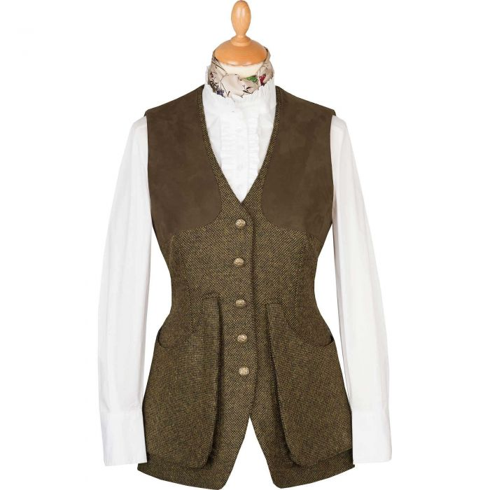 T. Ba Tweed Shooting Vest
