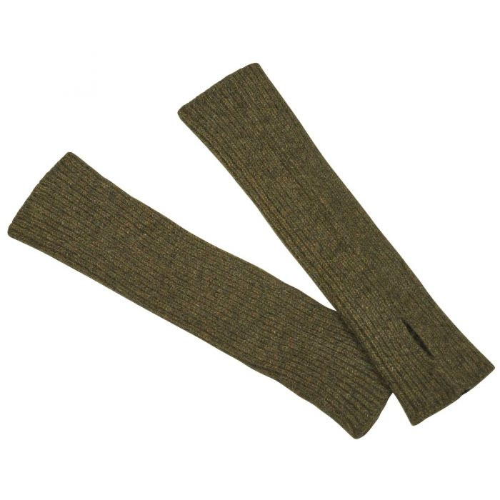 Olive Possum Arm Warmers