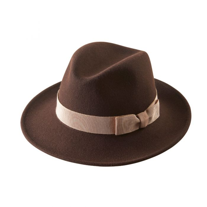 Fedora with Contrast Ribbon