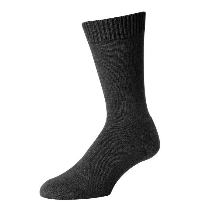 Grey Possum Merino Socks