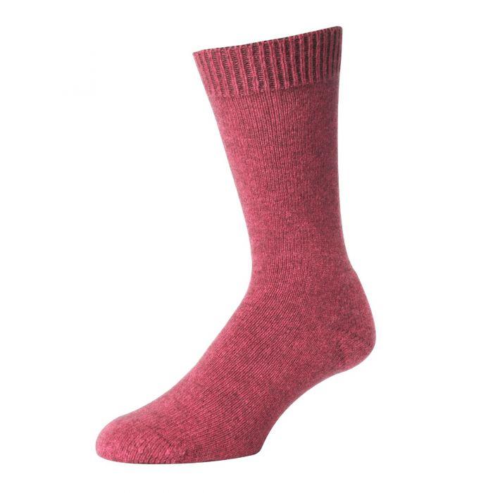 Pink Possum Merino Socks